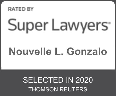 Super Lawyers Nouvelle L Gonzalo Selected 2020